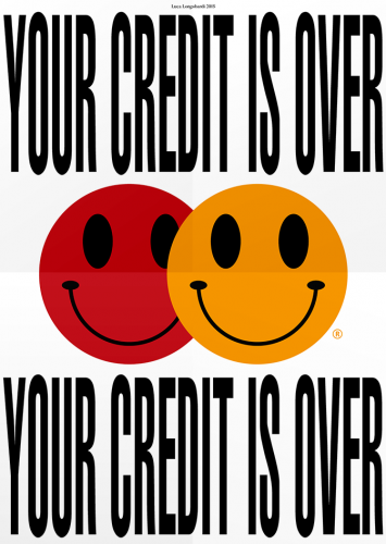 YOUR CREDIT IS OVER