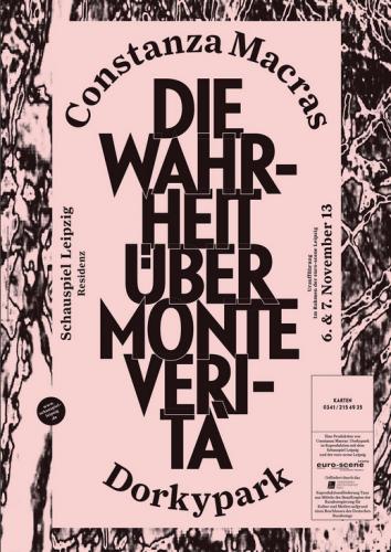 Schauspiel Leipzig 2013/2014 Residence Poster