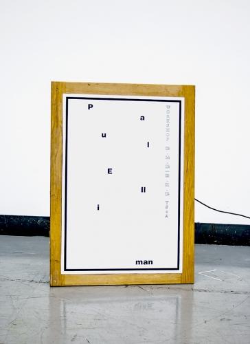 Paul Elliman Workshop Poster