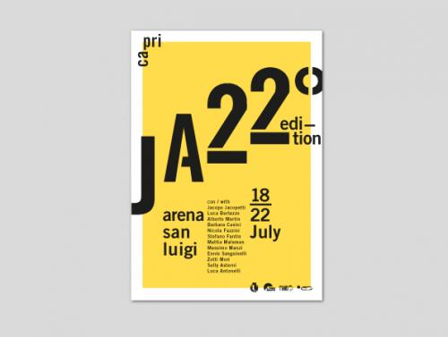 Manifesto per Capri Jazz
