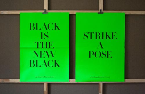 Copenhagen Fashion Week – Posters