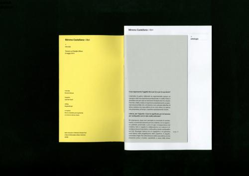 Mimmo Castellano: i libri
