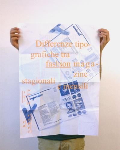 Poster tesi, Type Design