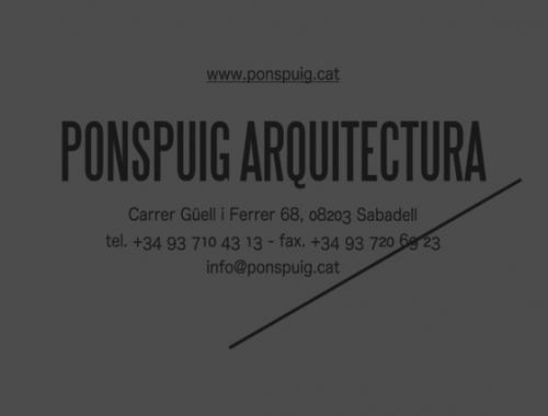 Pons Puig Arquitectura
