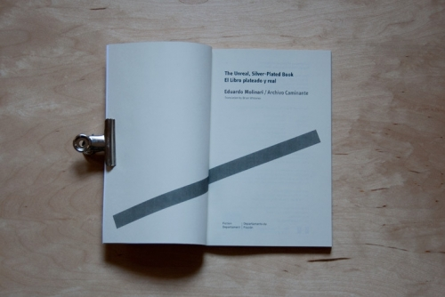 The Unreal, Silver-Plated Book