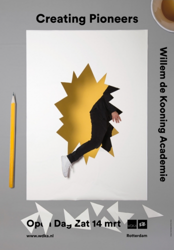 Willem de Kooning Academy campaign