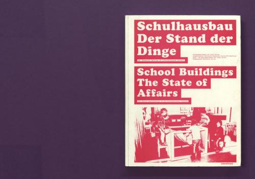 Schulhausbau. Der Stand der Dinge