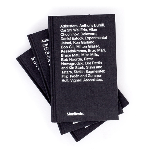 MANIFESTO, A COLLECTION OF DESIGNERS' CREDOS