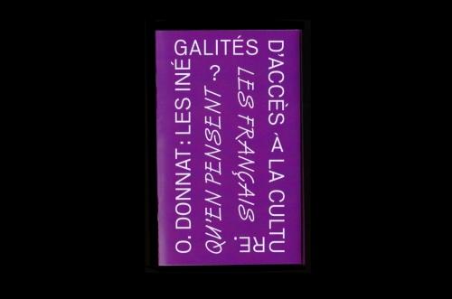Olivier Donnat, Les inégalités d'accès à la...