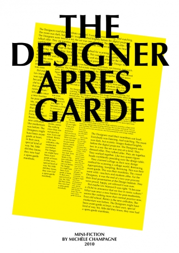 The Designer Apres-Garde