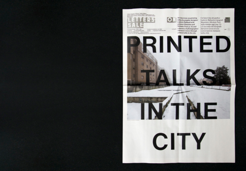 PRINTED TALKS IN THE CITY