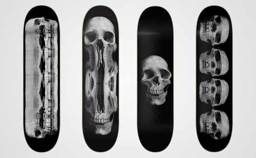 Various Skateboard Graphics