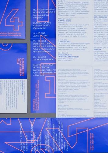 Jahresprogramm  Mannheimer Kunstverein
