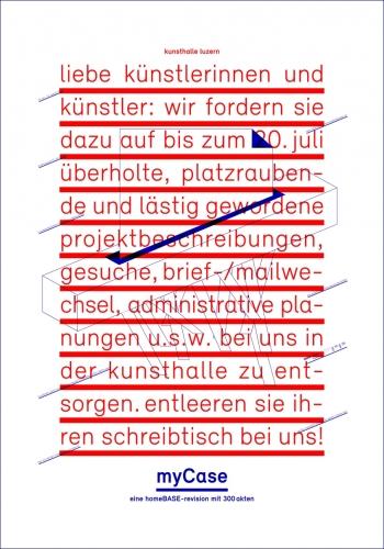 myCase Kunsthalle Luzern