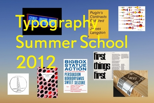 Typography Summer School