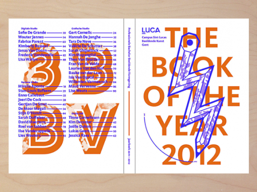 Luca School of Arts — jaarboek 2012