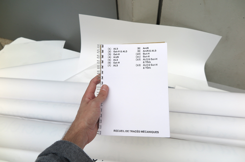 Catalogue de traces mécaniques