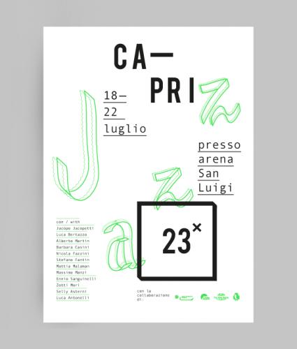 Capri jazz poster 23° edizione