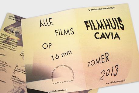 Filmhuis Cavia — Program design