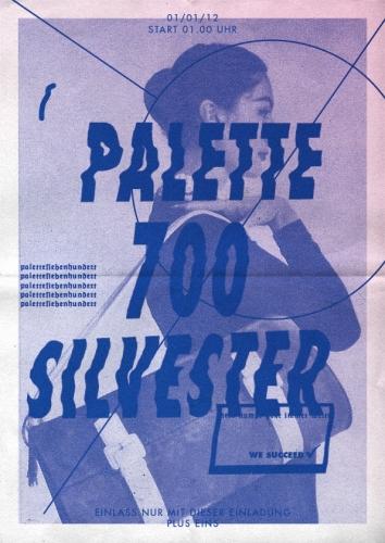 PALETTE 700 SILVESTER