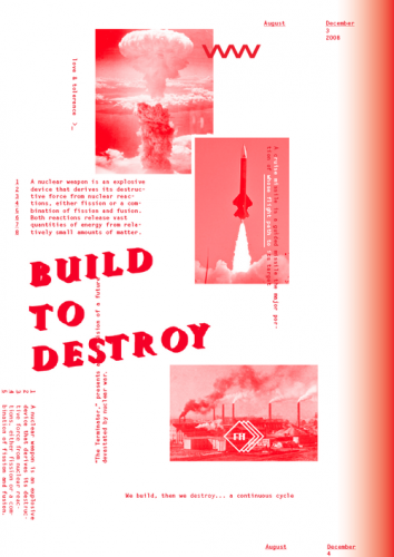 Build to destroy print