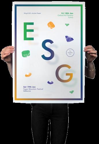 ESG Tour Poster
