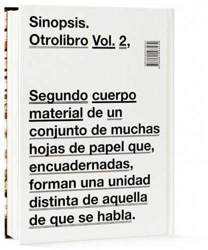 Otrolibro Vol.2 back cover