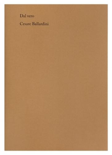 Cesare Ballardini, Dal vero
