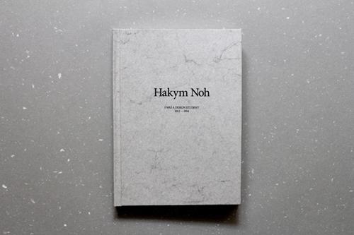 HAKYM NOH: I WAS A DESIGN STUDENT (2012-2014)
