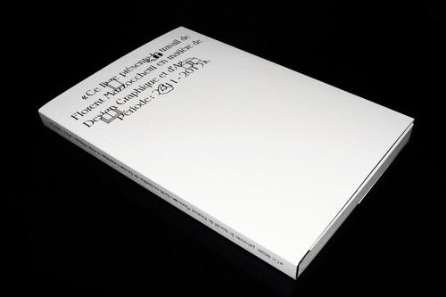 Ce livre présente le travail de Florent Mazzocchet