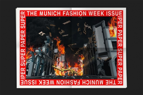 Super Paper XXL No. 58 The Munich Fashion Week Iss