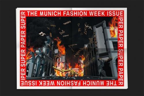 Super Paper XXL No. 58 The Munich Fashion Week Iss