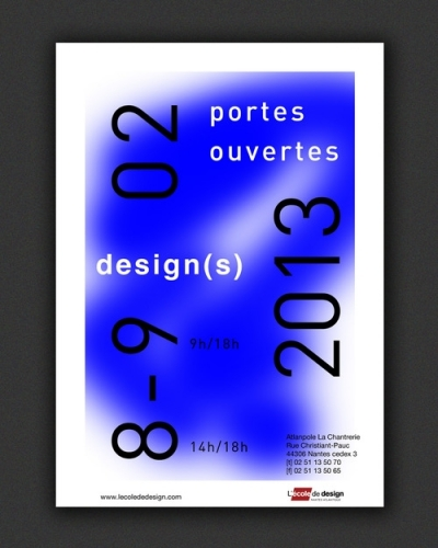 POSTER FOR NANTES SCHOOL OF DESIGN