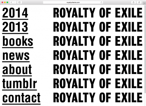 Royalty of Exile