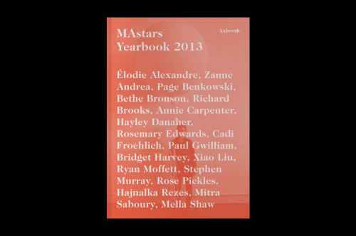 MAstars Yearbook 2013