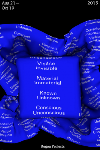 Visible Invisible, Material Immaterial, Known Unkn