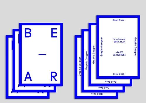 BEAR=BE-AR+B+R
