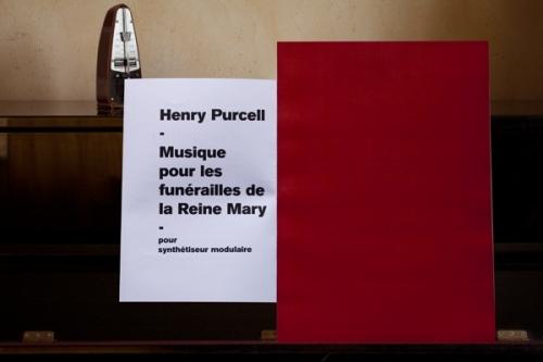 Musique pour les funérailles de la reine Mary