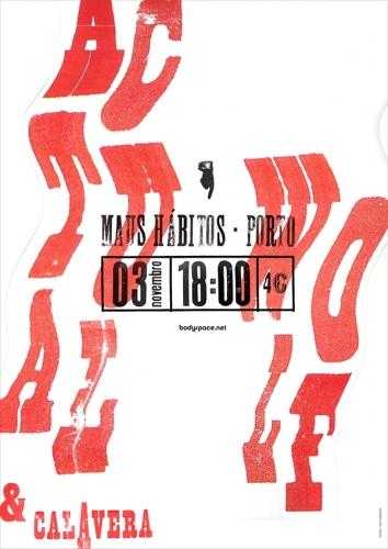 Bodyspace - concert posters 2013