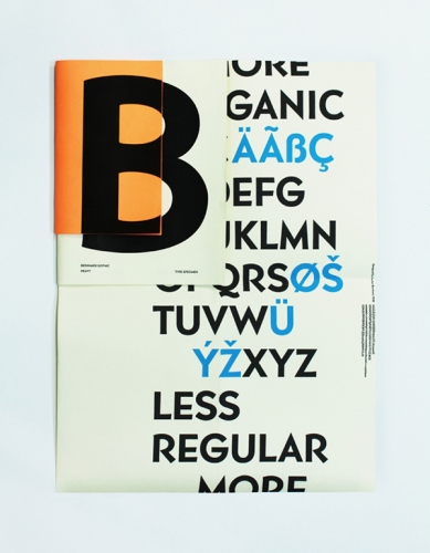 Bernhard Typeface