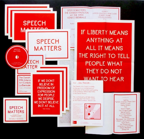 SPEECH MATTERS: DANISH PAVILION AT THE 54...