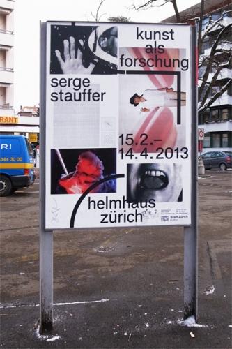 Serge Stauffer – Kunst als Forschung