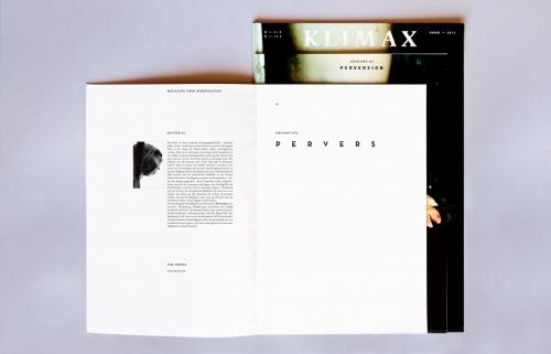 Klimax Magazin N°1