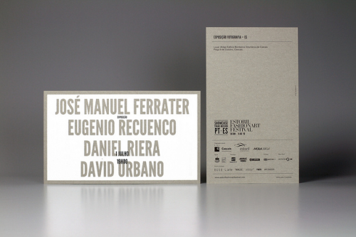 Estoril Fashion Art Festival Invitations