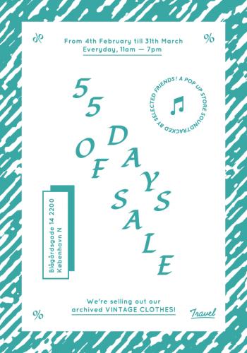 55 DAYS OF SALE