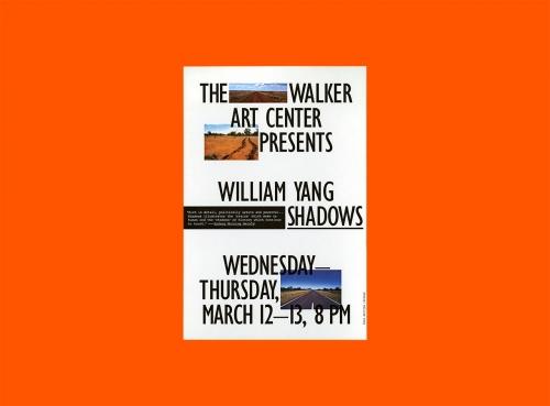 William Yang Shadows Walker Art Center