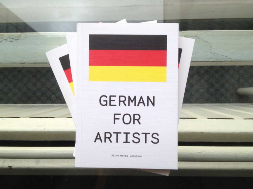 German for Artists