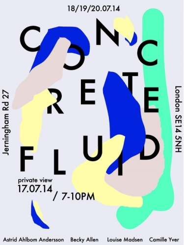Concrete Fluid Exhibition