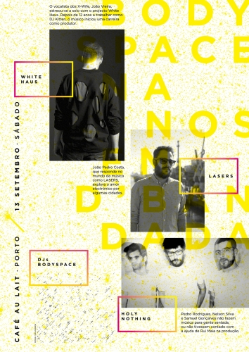 Bodyspace - concert posters 2014 II