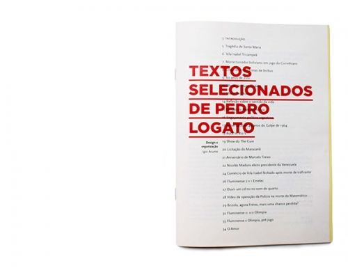 Selected Essays of Pedro Logato